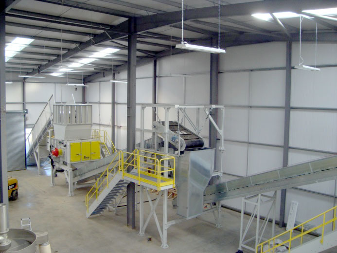 rHDPE recycling plant