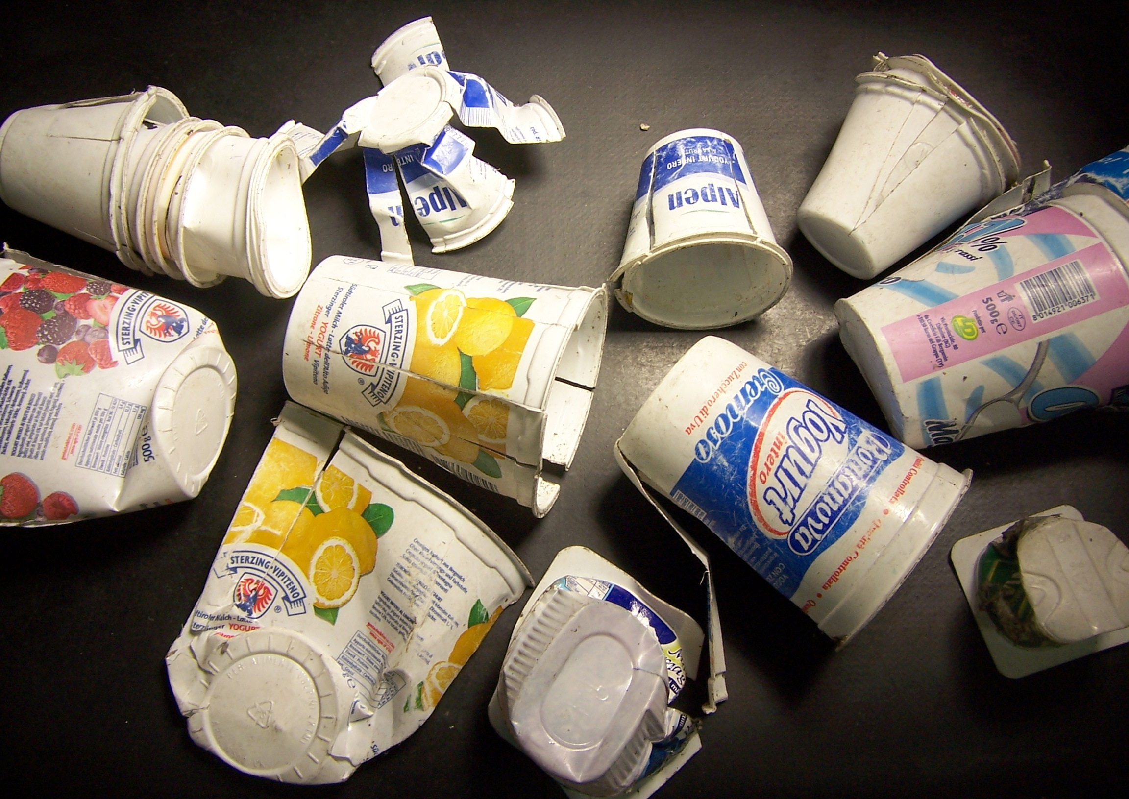 Thermoforms: Post-consumer packaging waste