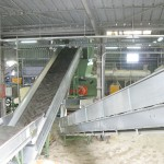 primary shredding film recycling process