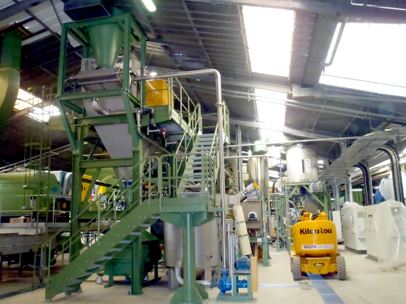 Plastic waste turnkey recycling plant