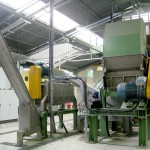 wet grinding film recycling process