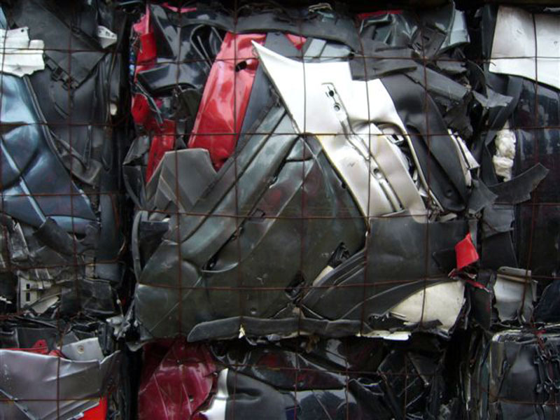 car plastic wastes recycling