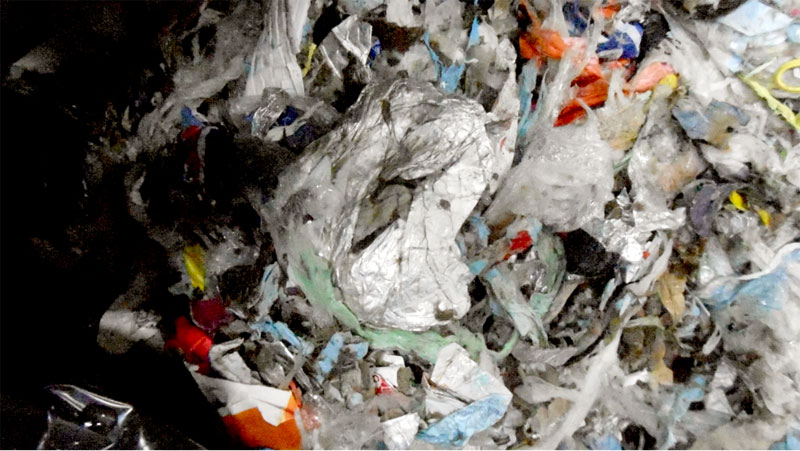 paper mill wastes recycling machine