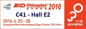 Chinaplas 2016 - booth number