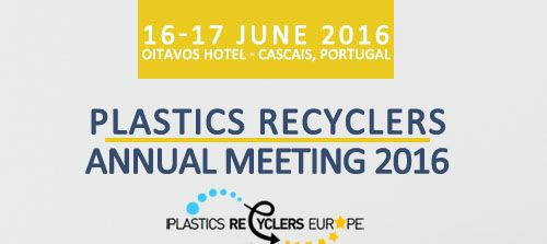 PLASTICS RECYCLERS EUROPE | Annual Meeting 2016